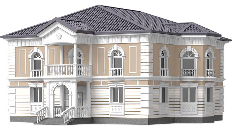 Формы на фасадный декор